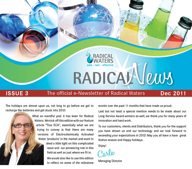 Radical News December 2011 Newsletter