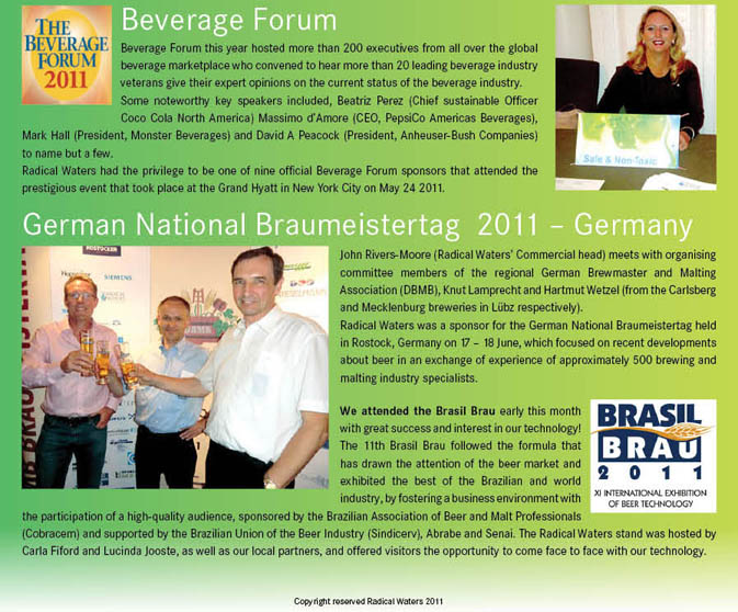 Newsletter July 2011