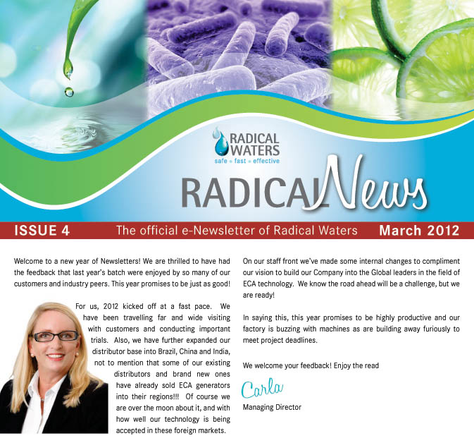 Radical News March 2012 Newsletter