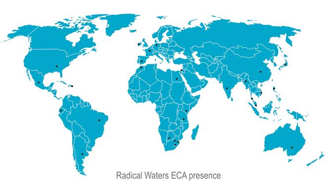 Radical Waters ECA Presence