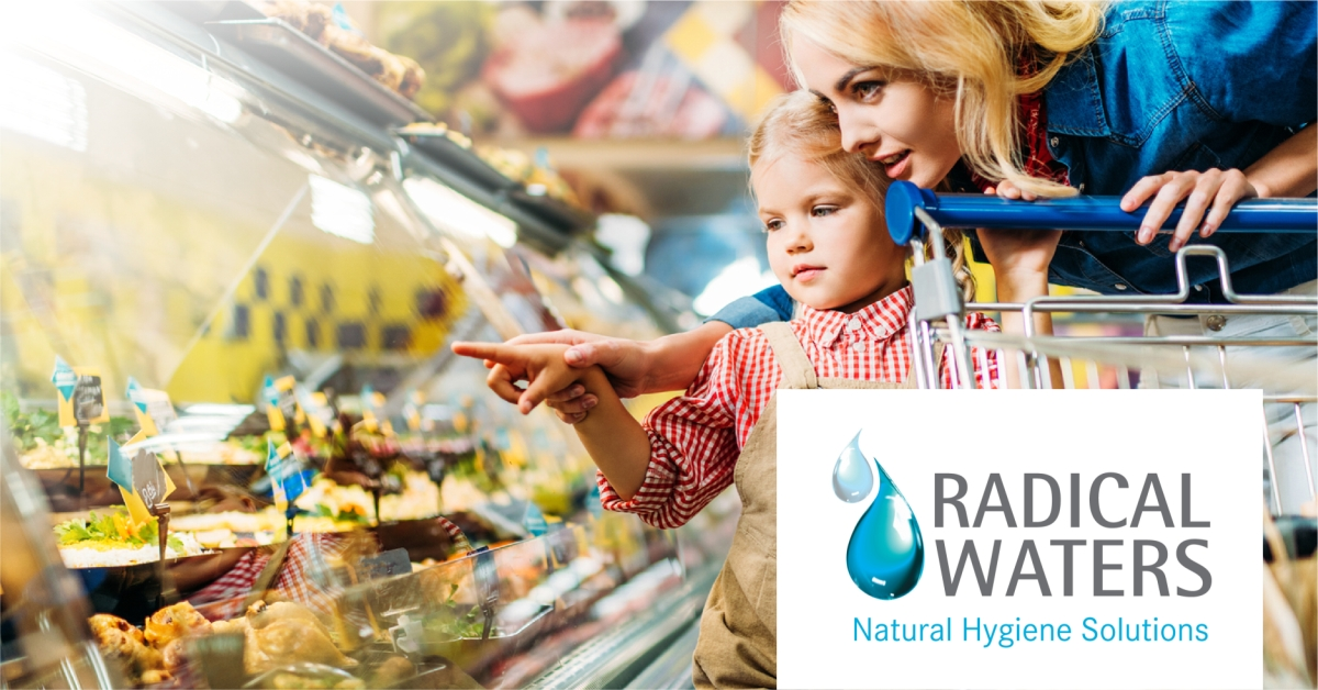 natural food safety solutions with electrolyzed water