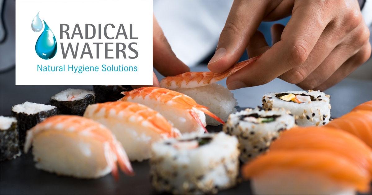 food safety is easy with electrolyzed water