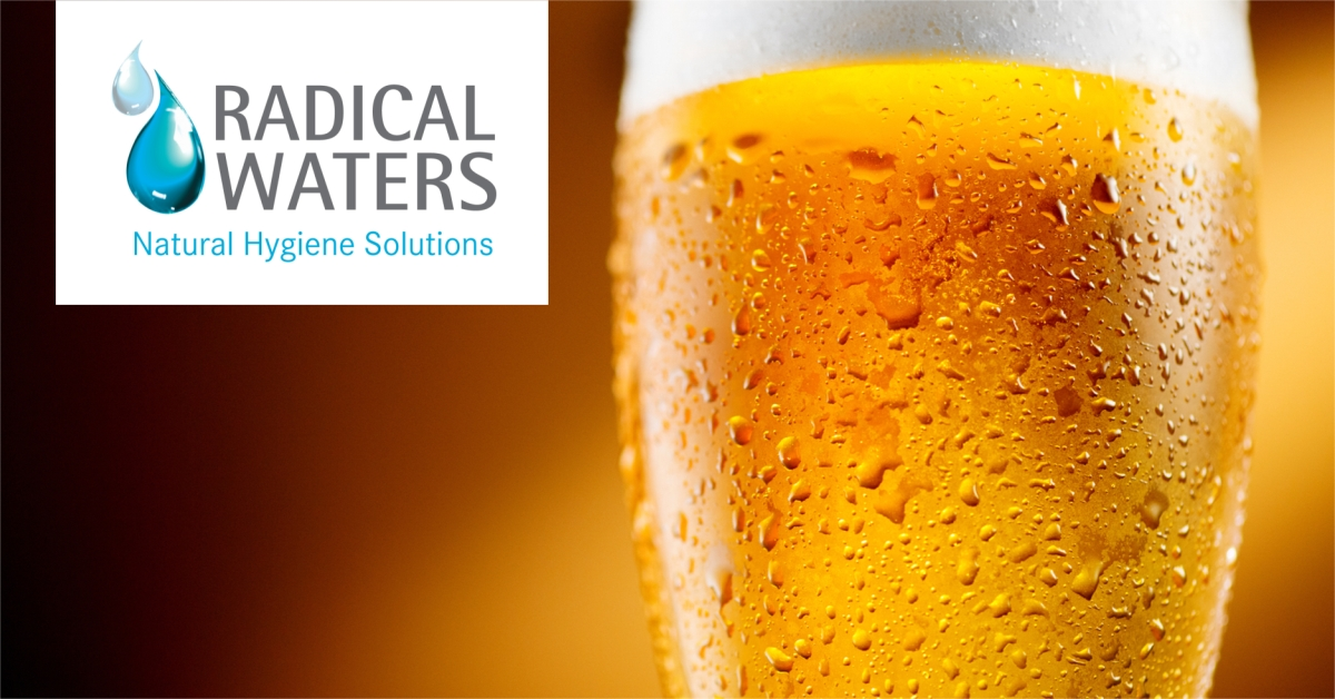 Our ECA cleaning solution for beverage industry CIP