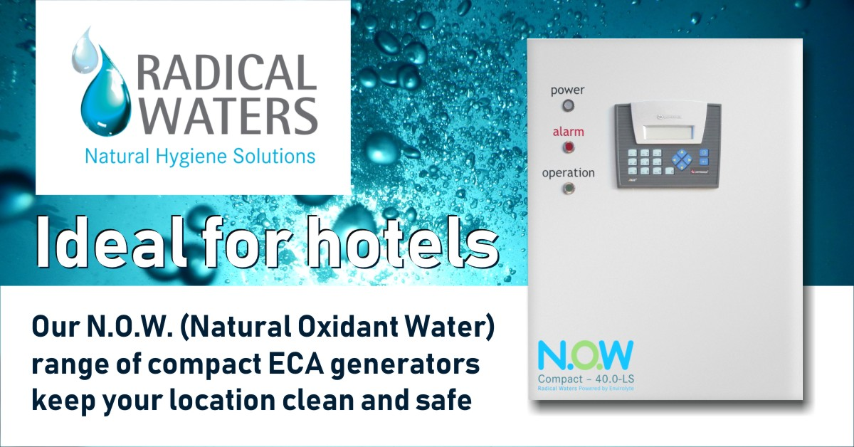 hotel water safety solutions using eca technology