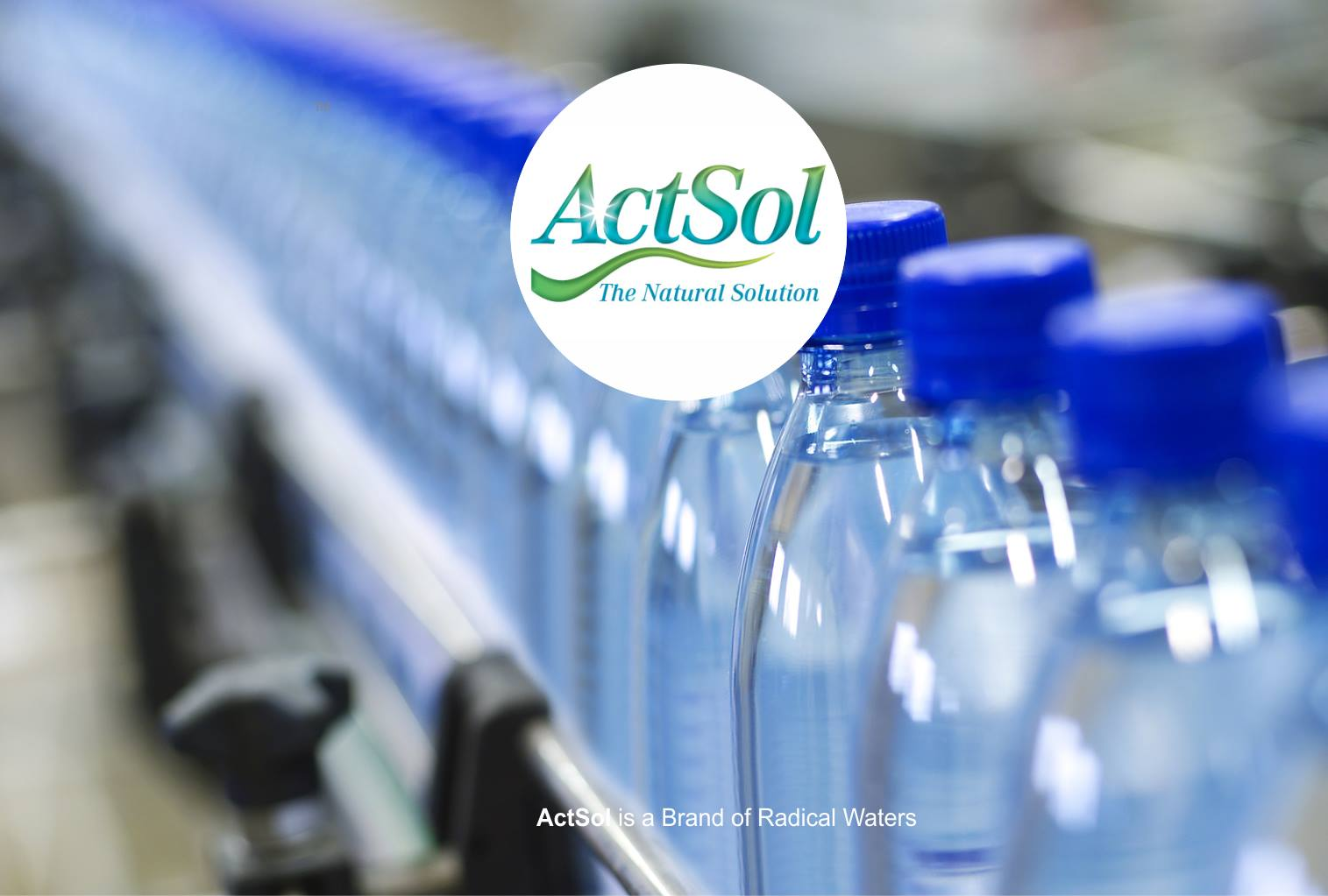 ActSol: Our bottled ECA Brand ActSol is available ex-works JHB (SA)